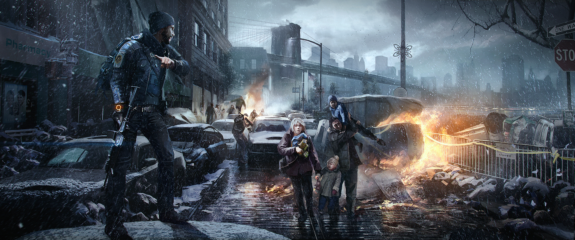 Gamescom 2014: New Screenshots, Art Released for &#39-The Division ...