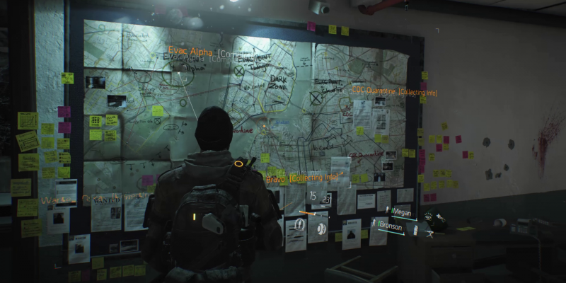 PvE Zone / Zones / The Division Zone