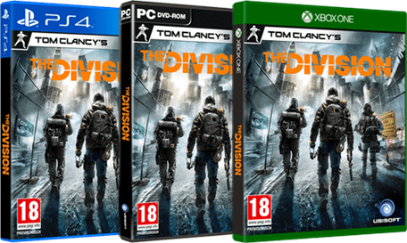 Tom Clancy's The Division Packshots