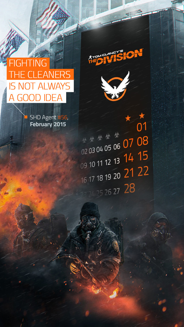 desktop wallpaper  february 2015    the division zone