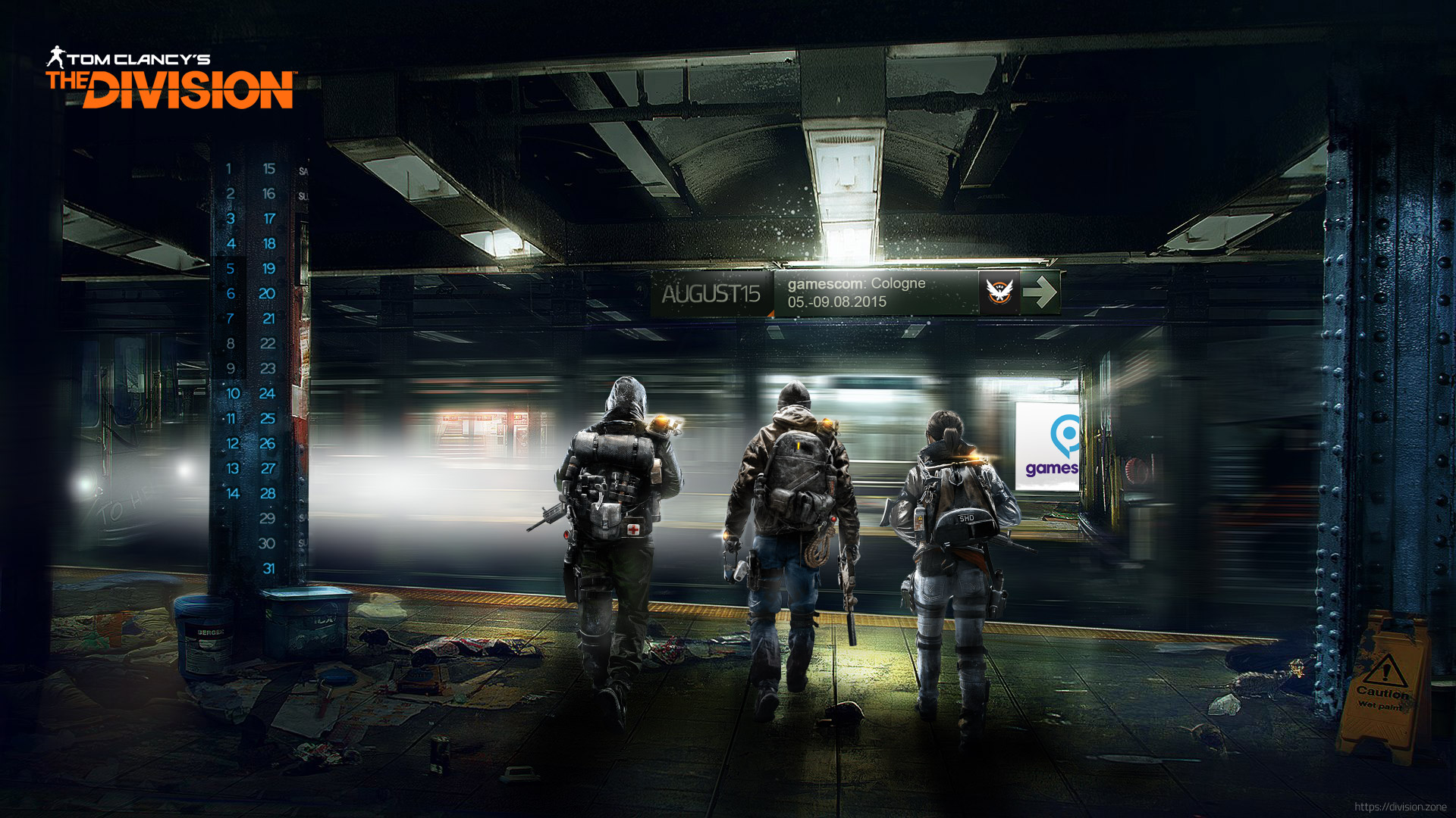 desktop wallpaper august 2015 the division zone