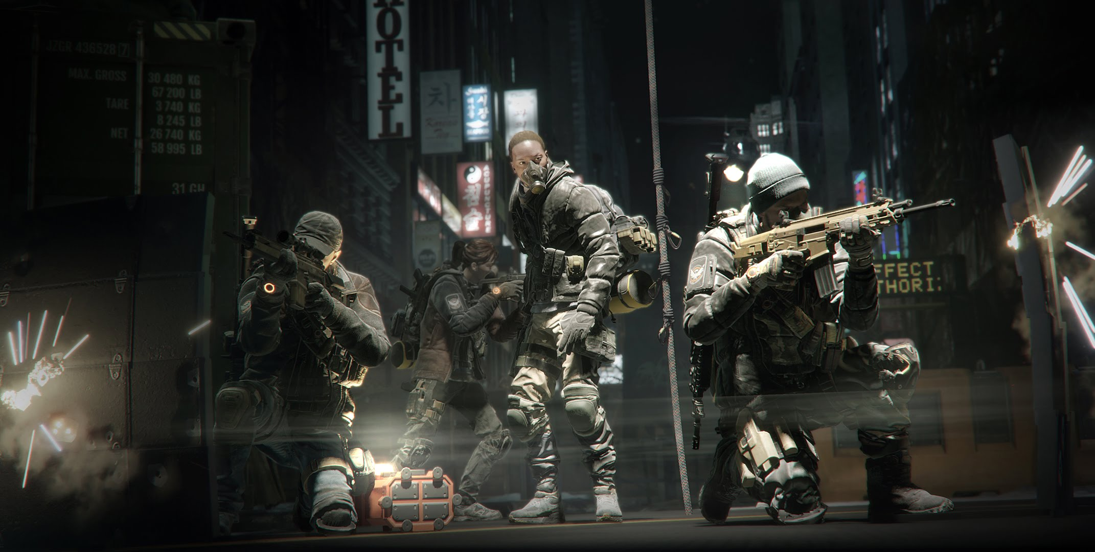 Weapons & Mods / The Division Zone