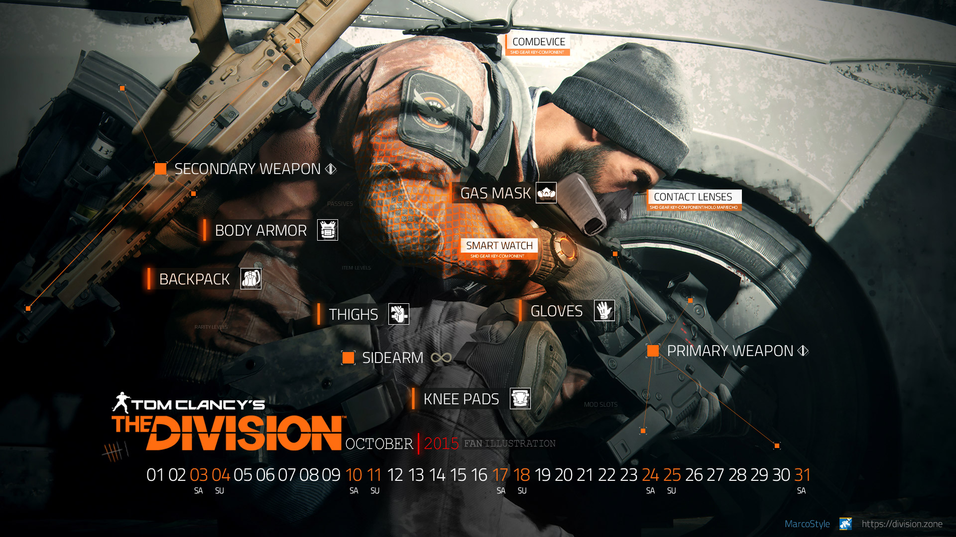 desktop wallpaper october 2015 the division zone