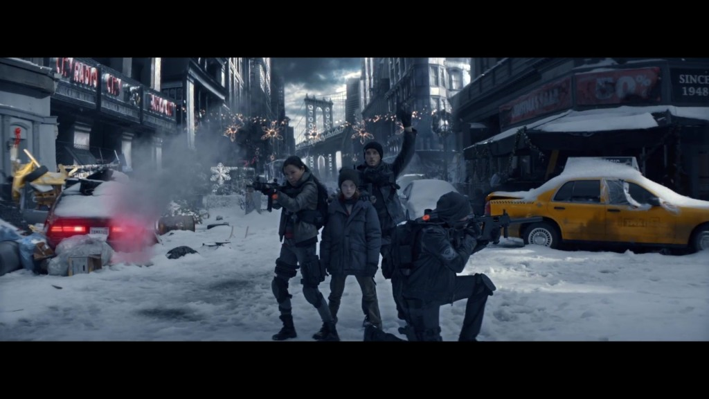 "Official The Division Live Action Trailer ""Silent Night"