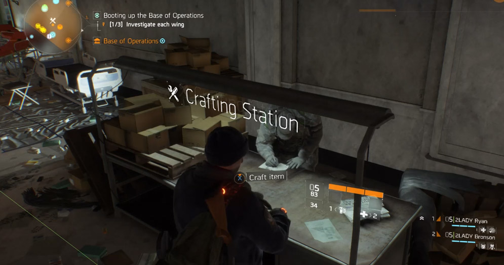 Crafting / Items / The Division Zone