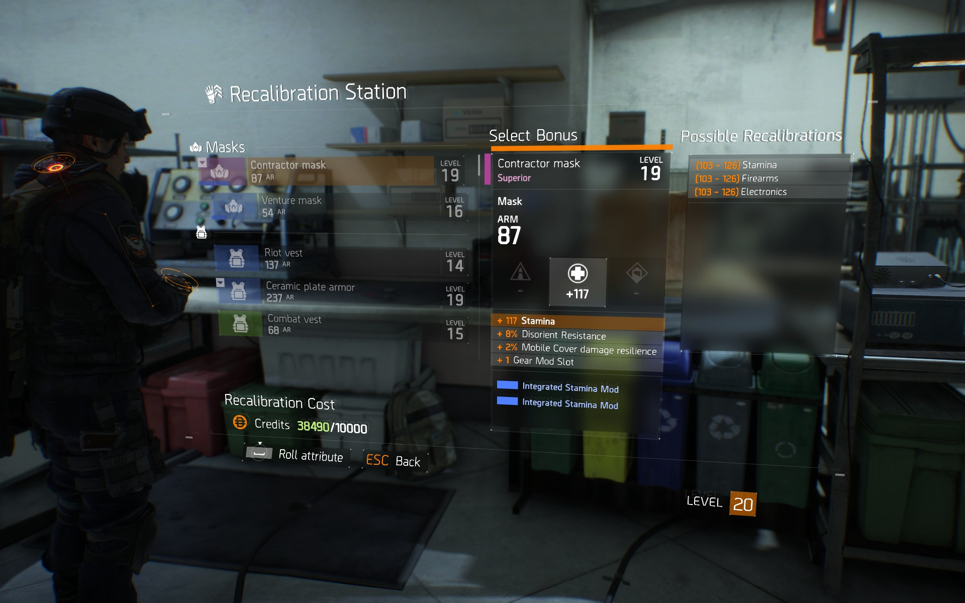 Crafting Items The Division Zone