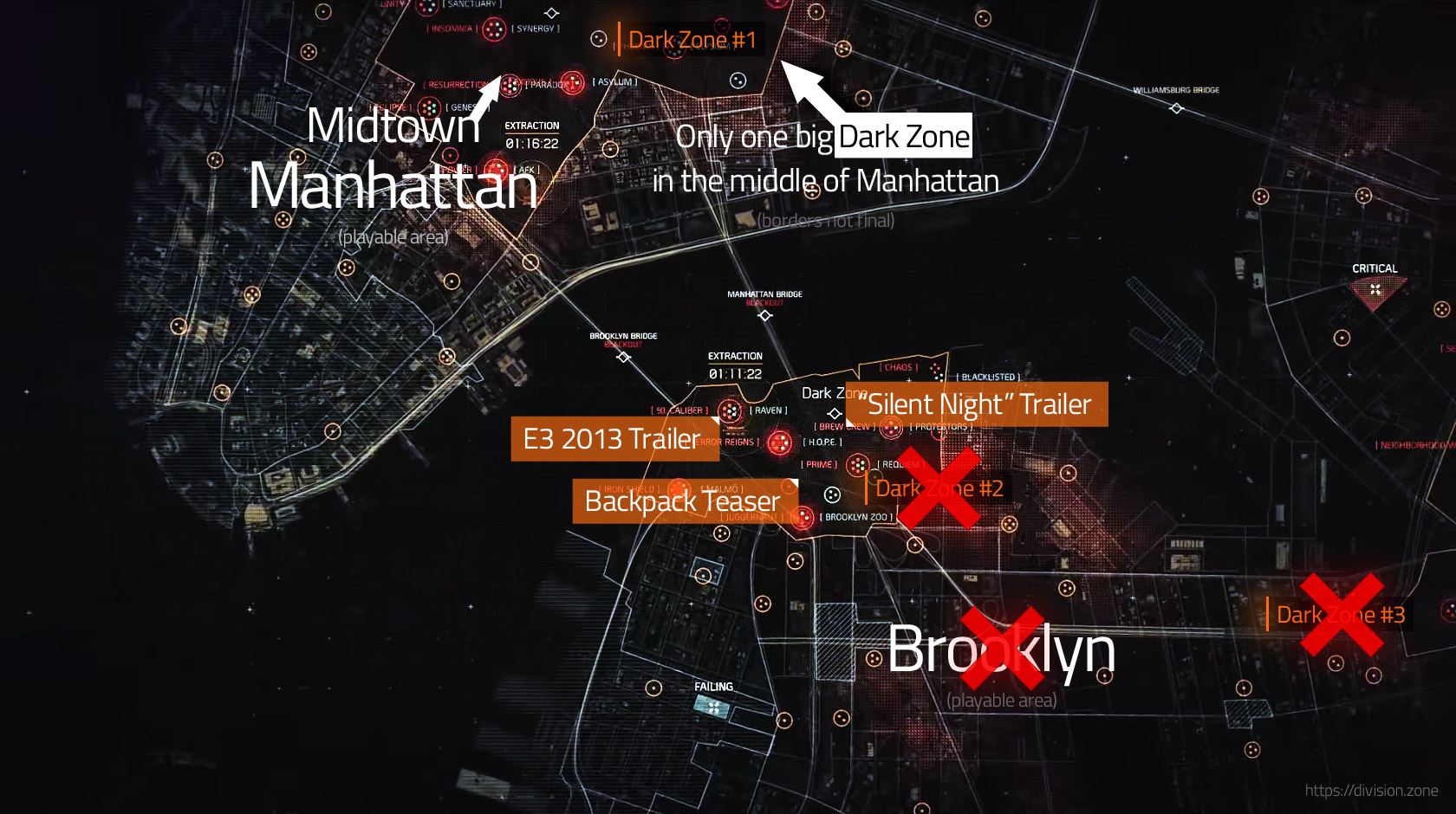 The Division Map Size Tom Clancy's The Division Will Not Include Brooklyn, Queens, Bronx  The Division Map Size