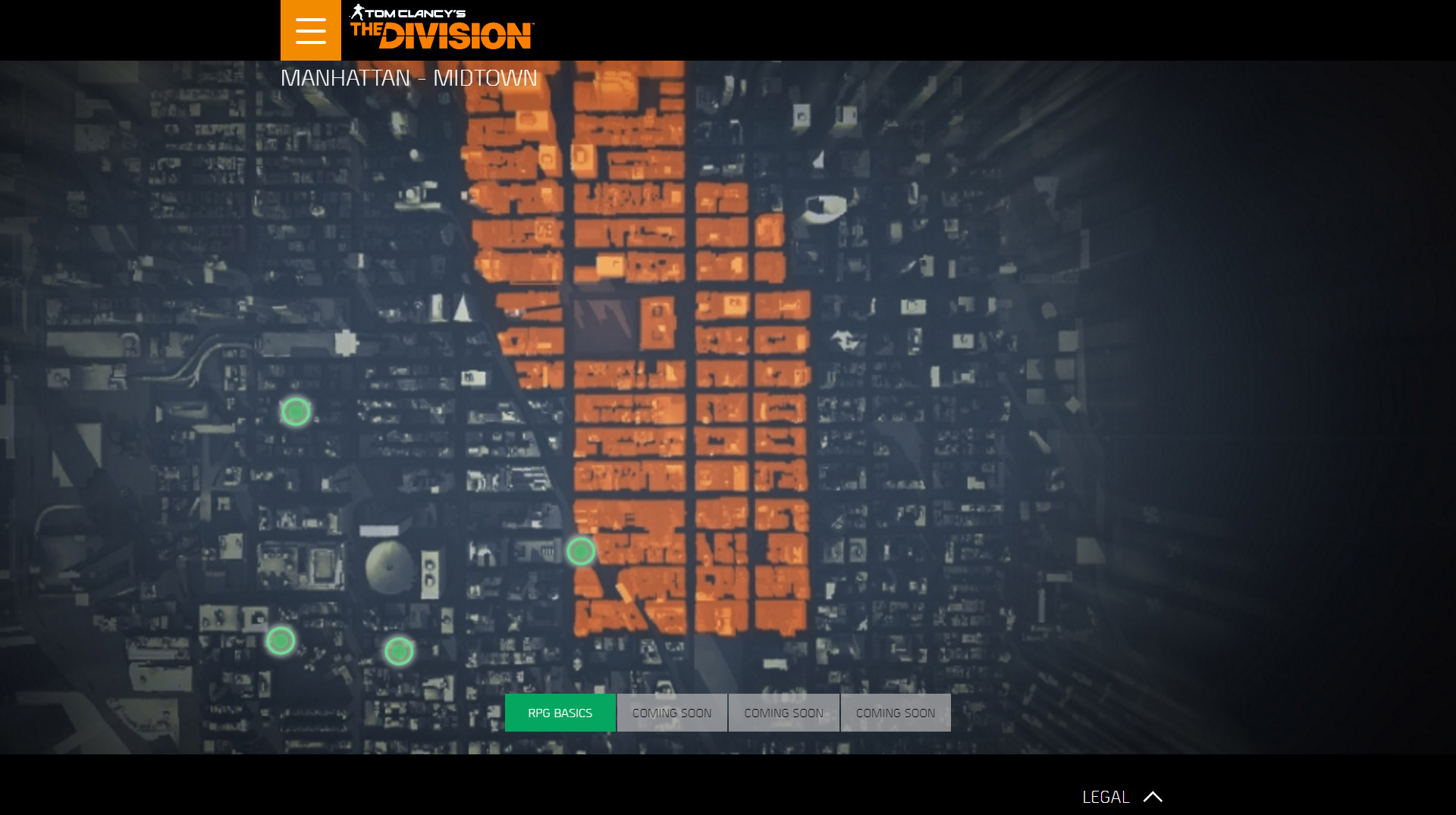 The Division Agent Intel Interactive Map Available Outside The Us