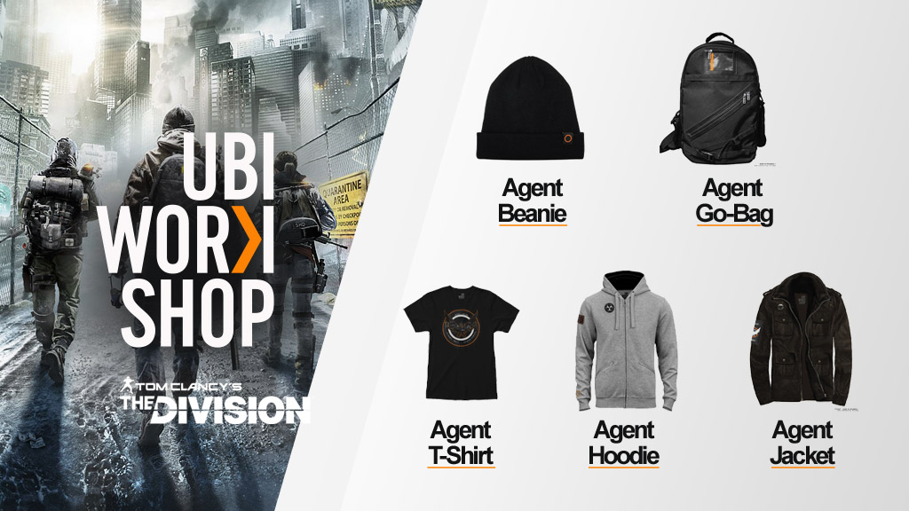 c8967ba9e1c Ubi Workshop  T-Shirt and Hoodie Join The Division s Gear Collection ...