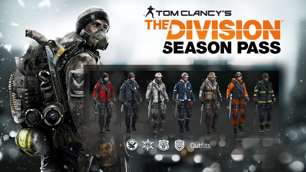 Gear sets now available for season pass holders the ision zone