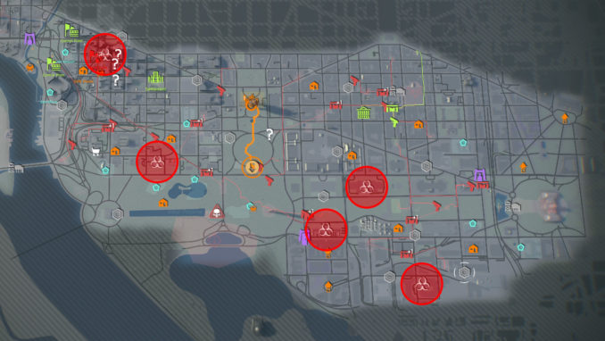 Contaminated Zones / Zones / The Division 2 / The Division Zone