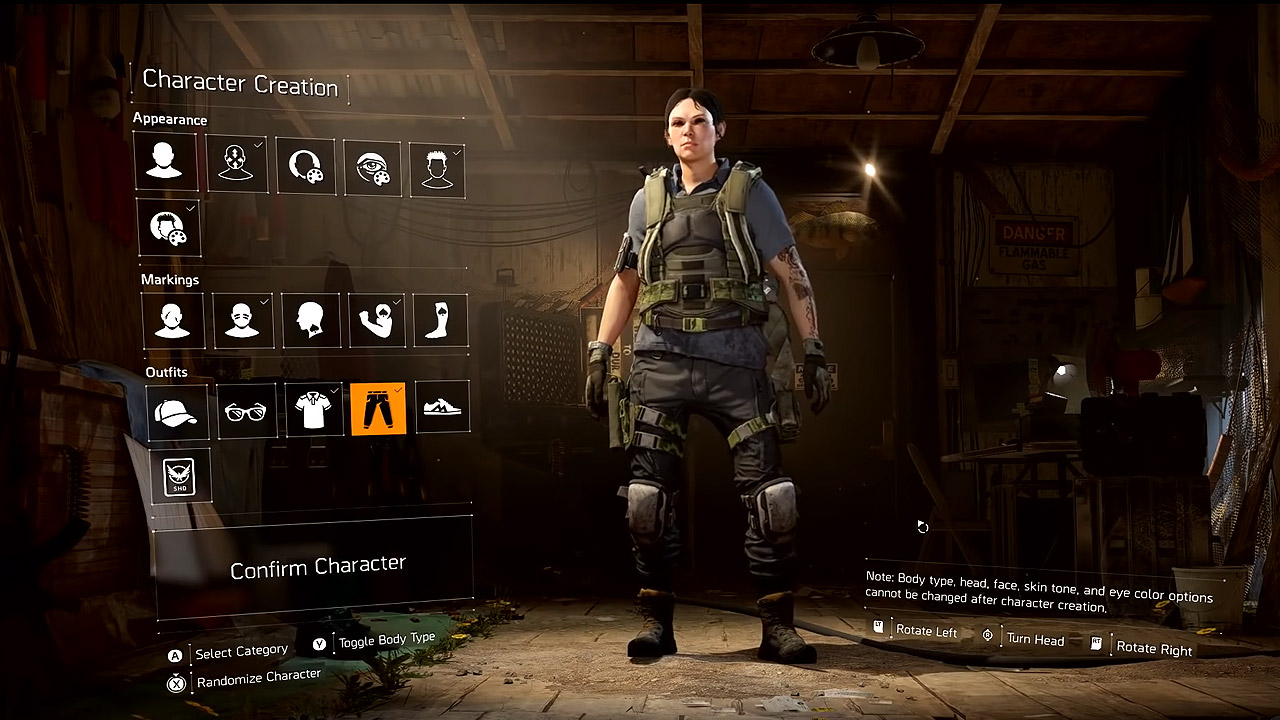 Sneak Peek at The Division 2's Character Customization / The