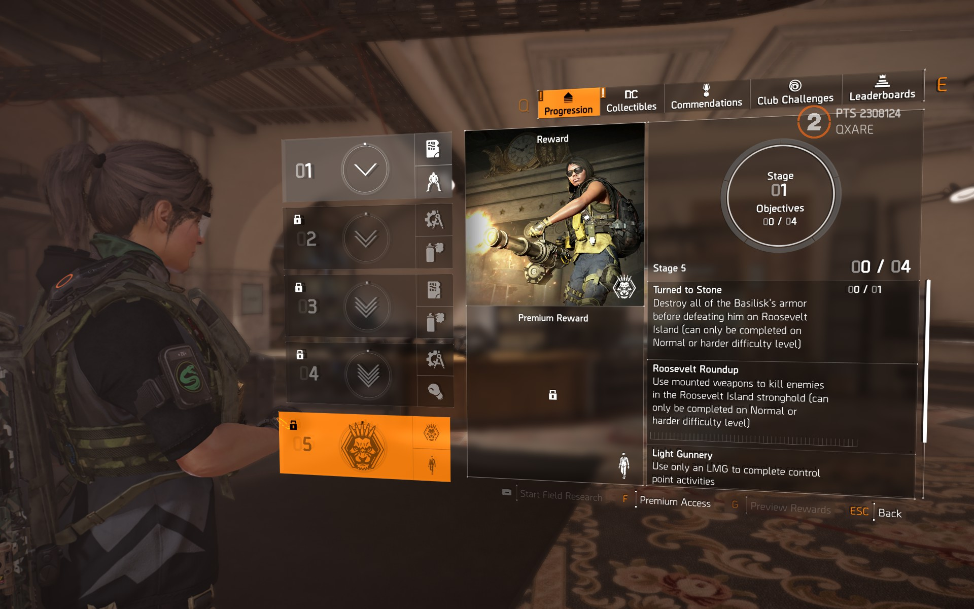 Madison : Division 2 patch notes pts