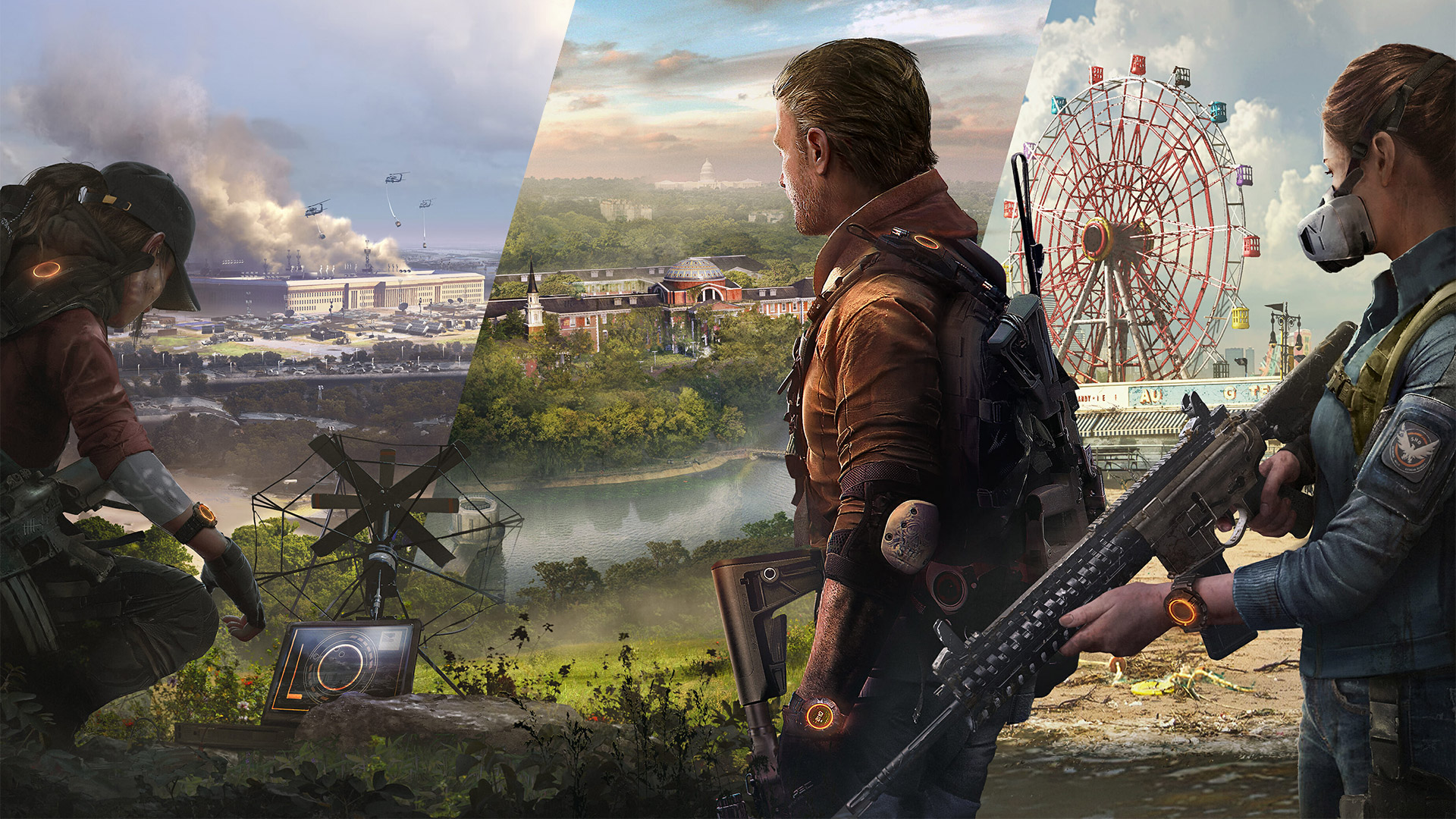 The Division 2's Year 1